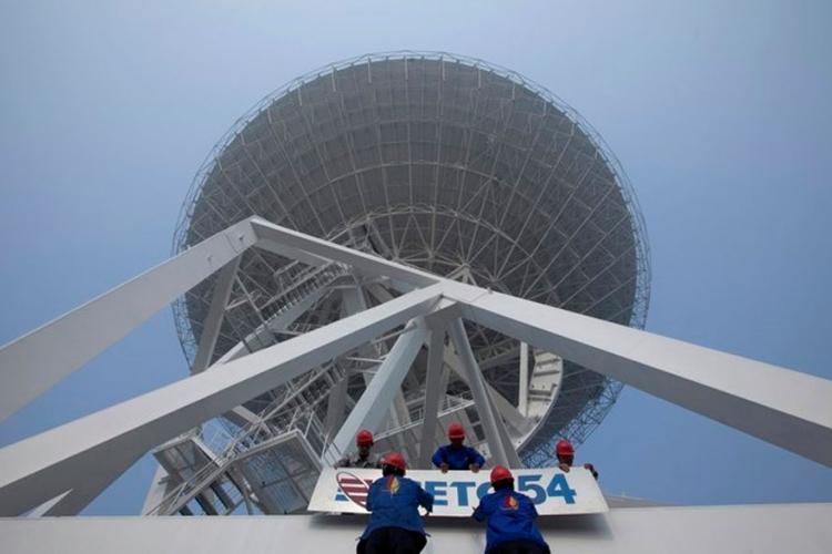 kina radio teleskop