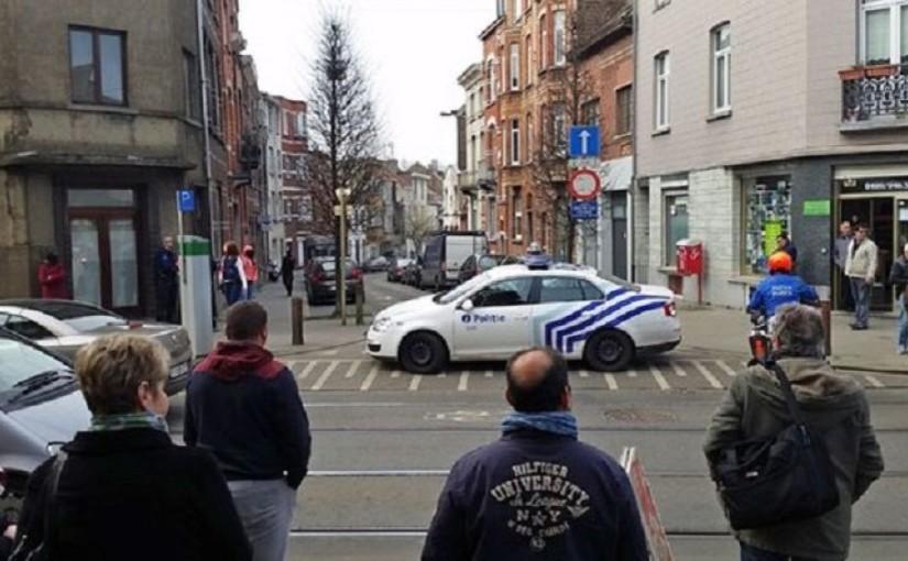 Obračun sa teroristima: Pucnjava u Briselu, troje ranjenih