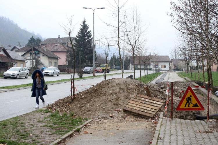 Mještane Krfske ulice u Banjaluci brinu nezavršeni radovi