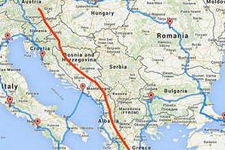 nova ruta izbjeglice