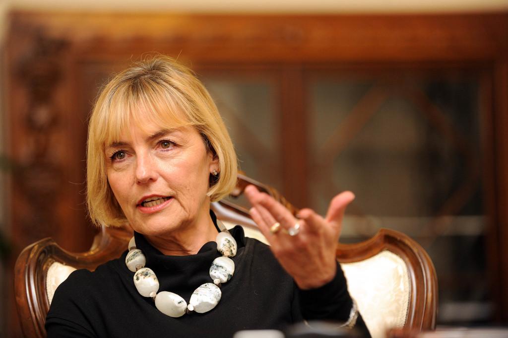 Zagreb,11.10.2012 (pogled) - Vesna Pusic, uz intervju I.Frlan foto Davor Kovacevic pogled