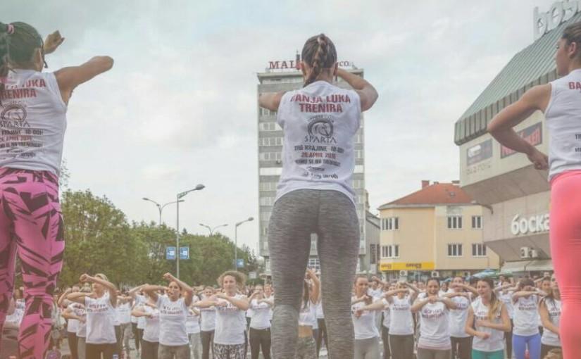 """U nedjelju """"Banjaluka trenira"""" na Trgu Krajine"""