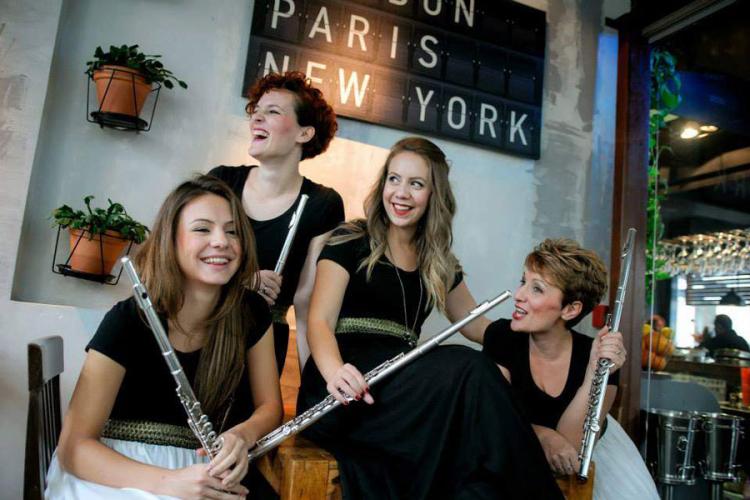 kvartet flauta flautete