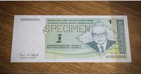 papirna marka numizmatika