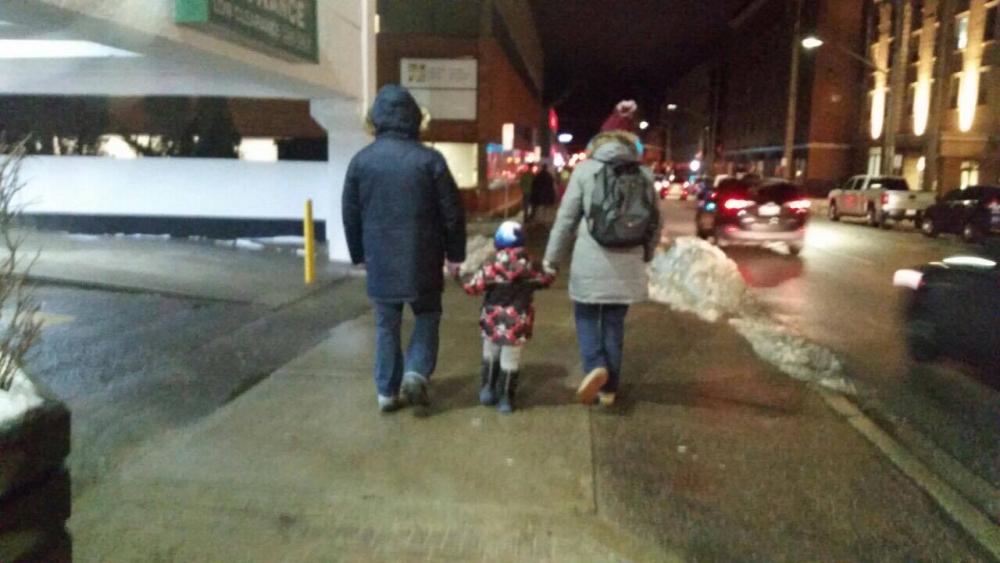 vesna sa porodicom u kanadi