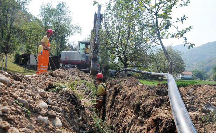 vodovodna mreza izgradnja