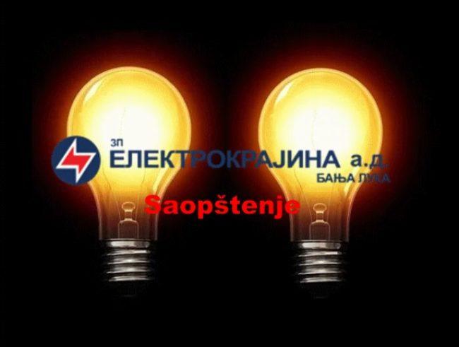 elektrokrajina saopstenje