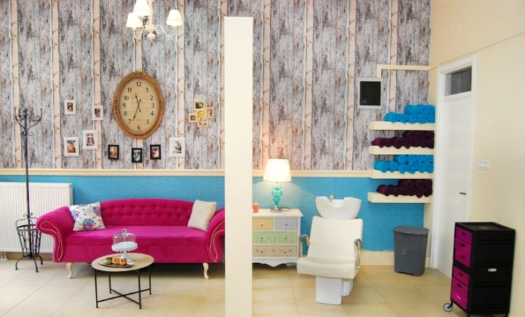 frizerski salon design