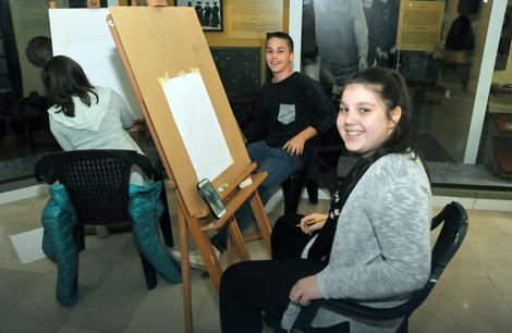 Tradicionalna manifestacija počela u Banjaluci: Učenici donijeli proljeće u Muzej