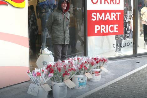 prodavac ruza