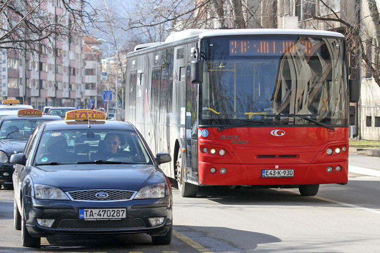 putnici taksisti autobusi