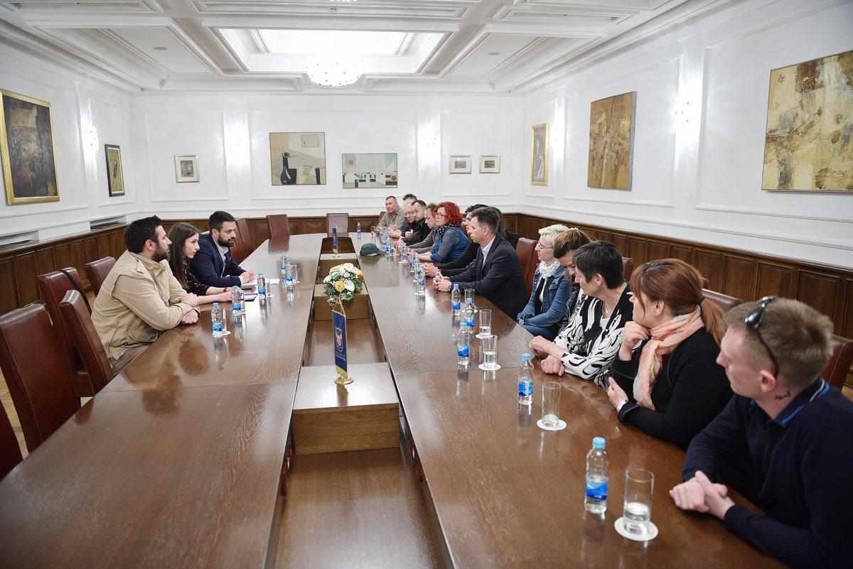 delegacija ljubljane u posjeti banjaluci