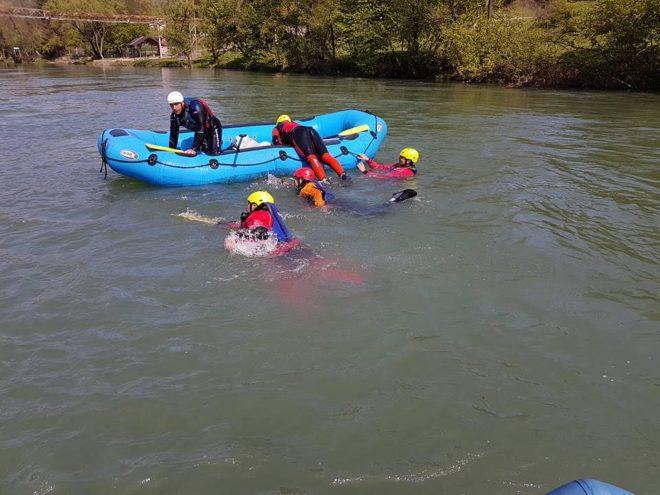 obuka vodica u raftingu