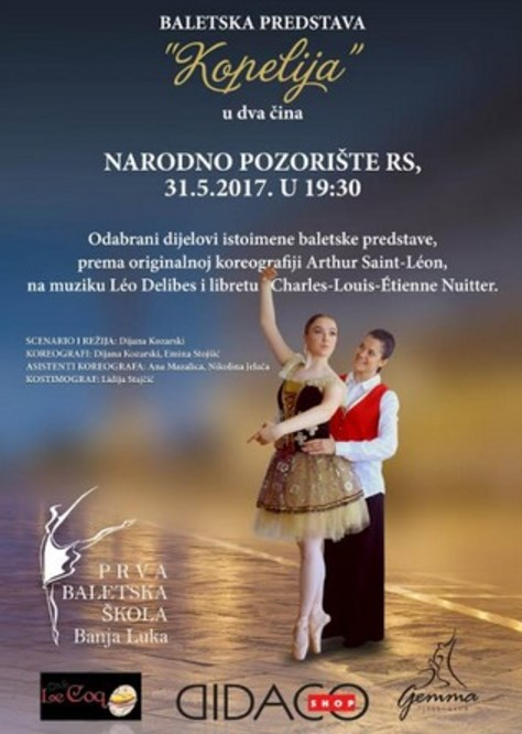 baletska predstava kopelija
