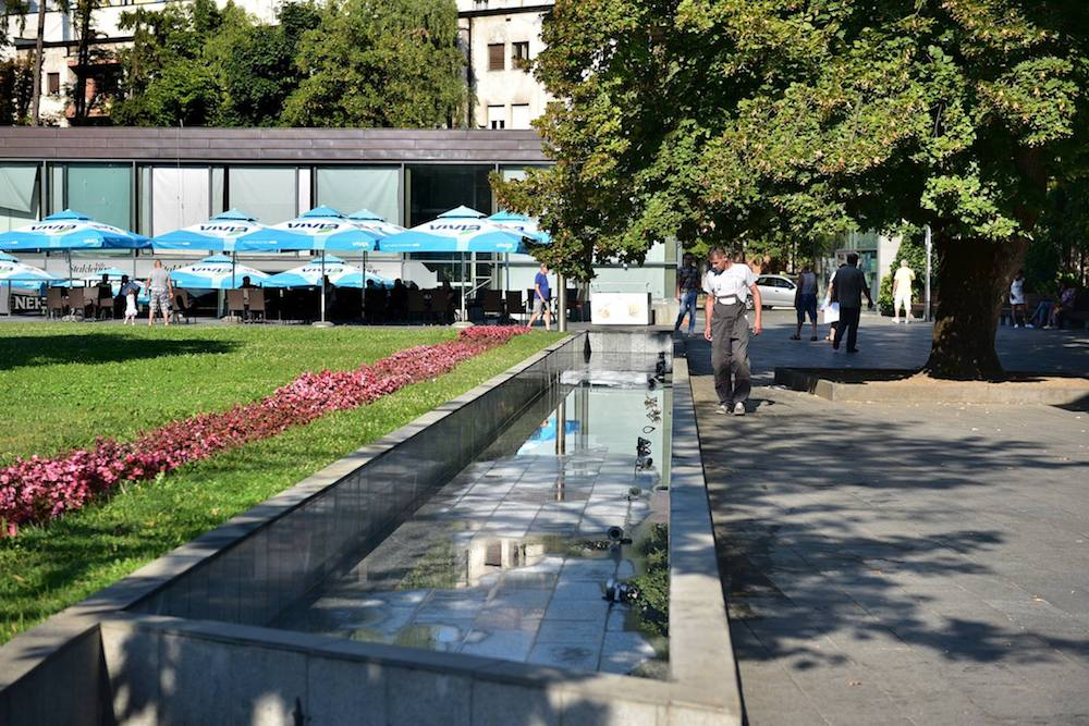 park petar kocic fontane