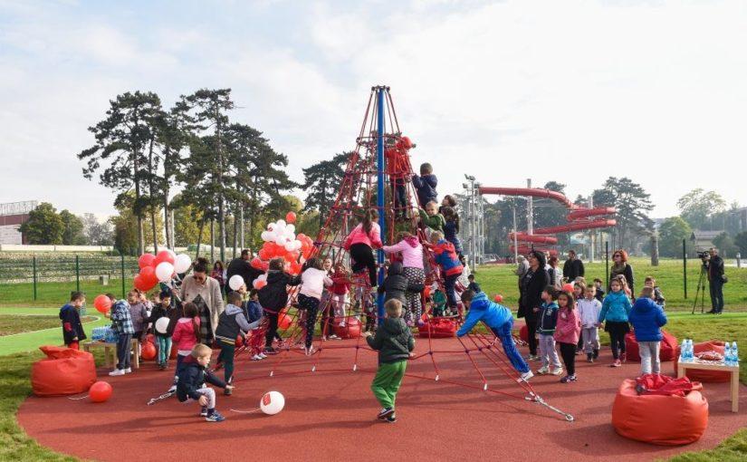 U okviru parka Aquana otvoreno dječije igralište i rekreativna zona