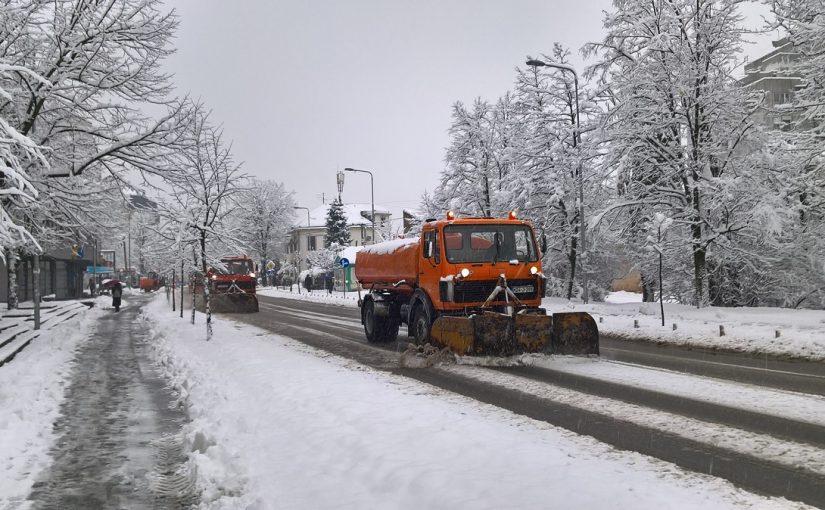Zimska služba na terenu: Putevi očišćeni