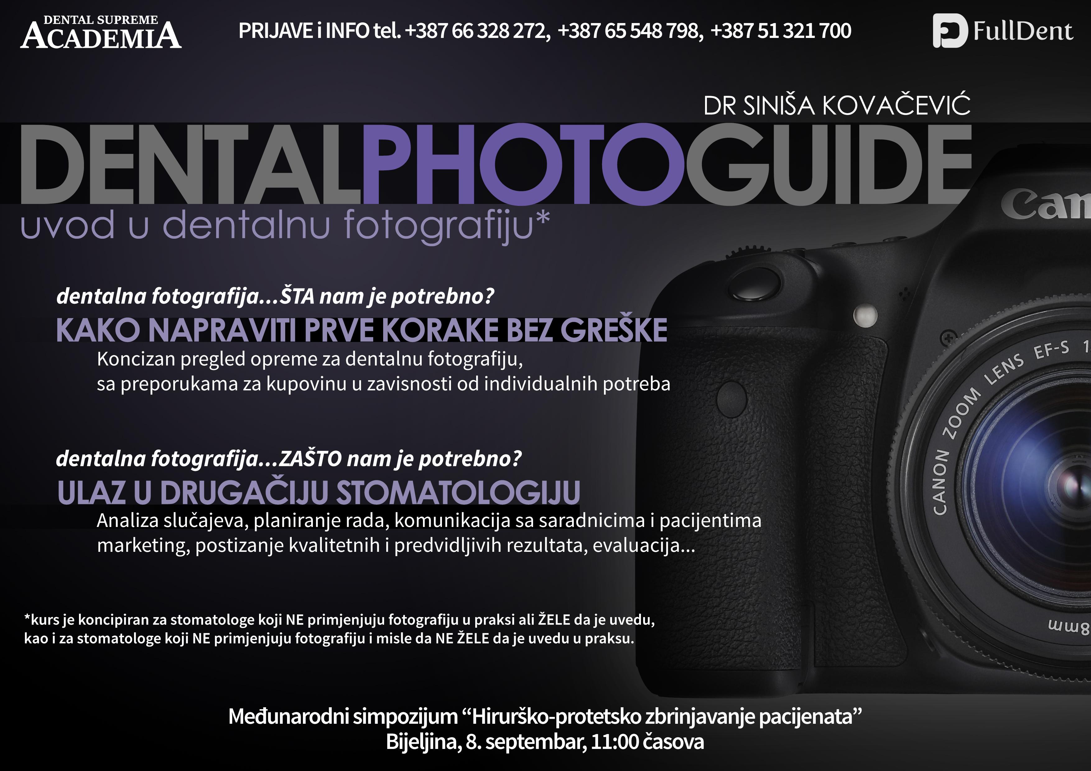 Uvod u dentalnu fotografiju
