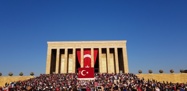 Anitkabir, mauzolej Ataturka