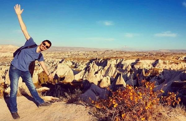 Panorama -basjkovıta Kapadokija