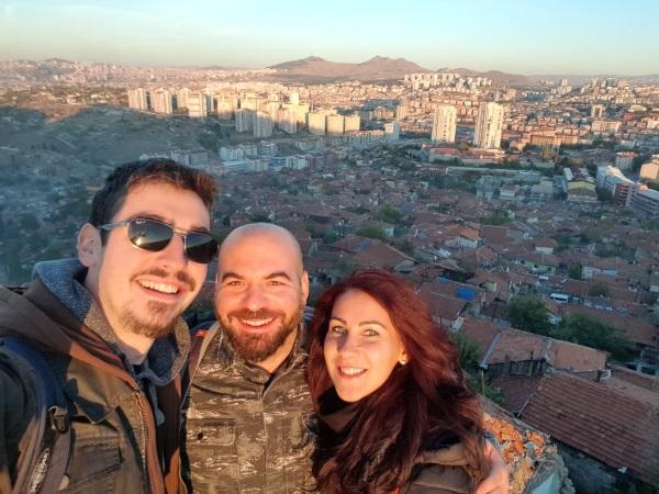 Pogled sa Ankara zamka