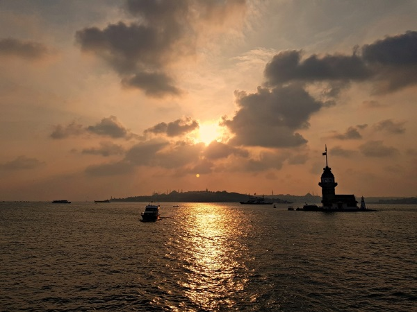Zalazak sunca u Istanbulu