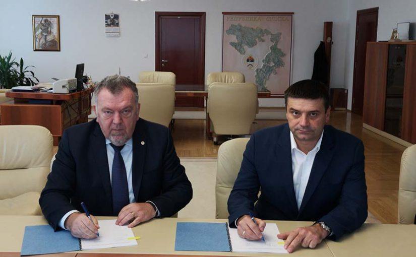 """AUTOPUT GRADIŠKA-BANJALUKA Potpisan ugovor o koncesiji za izgradnju odmorišta """"Lužani"""""""