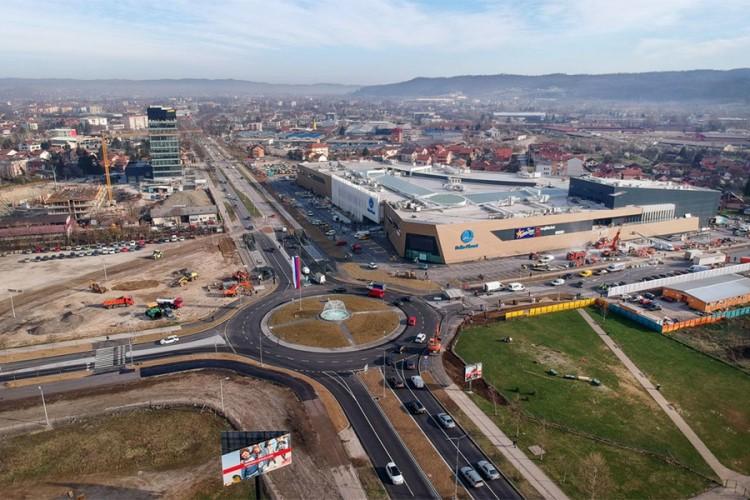 """Obustava saobraćaja u Banjaluci zbog otvaranja """"Delta planeta"""""""