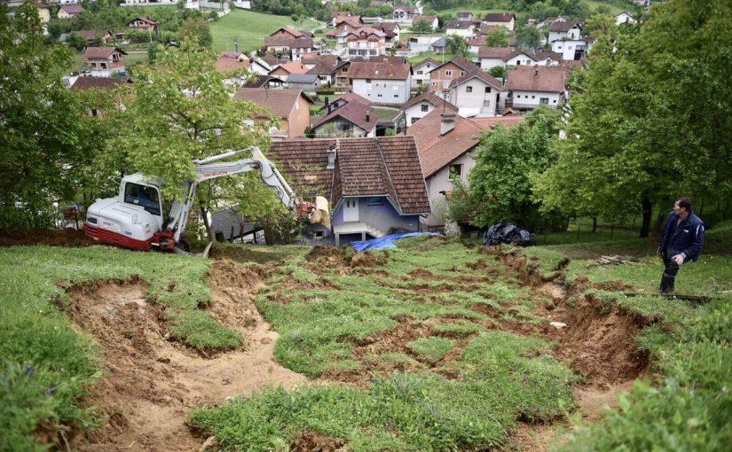 PRVI IZVJEŠTAJI: 18 objekata oštećeno u poplavama
