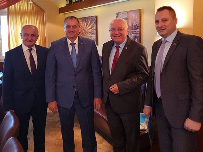 SARADNJA: Višković u Lincu sa specijalnim savjetnikom Evropske komisije