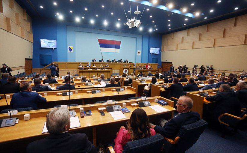 PODRŠKA DODIKOVOJ IZJAVI: NSRS usvojila zaključke sa 60 glasova za i šest protiv