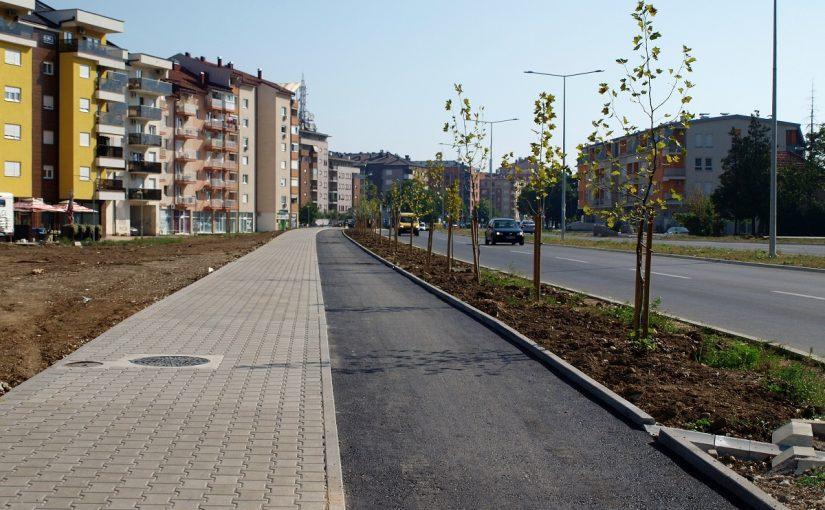 Izgrađene biciklističke i pješačke staze uz novi dio Istočnog tranzita