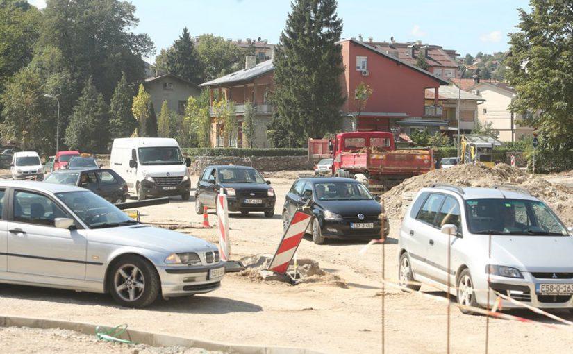 Gradnja kružnog toka na Kočićevom vijencu obustavlja saobraćaj