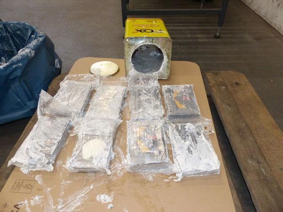 NAJVEĆA ZAPLJENA U EVROPI: Njemačka carina u luci u Hamburgu otkrila 16 tona kokaina
